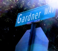 Gardner Way Street Sign