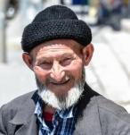 smiling older person