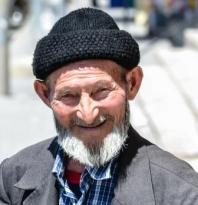 smiling older person