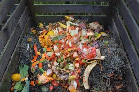 compost in bin