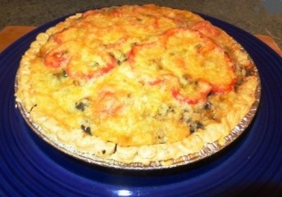 cooked southwestern pie