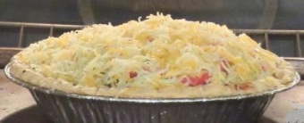 grated Mexican cheese blend on top for last 15 minutes in oven