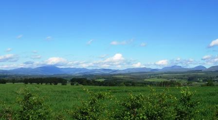 Perthshire Mountains Scotland