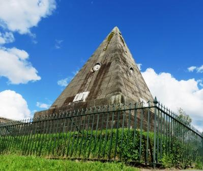 Star Pyramid in Scotland near Stirling Castle