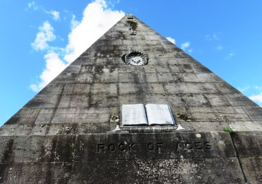 Close up view of Star Pyramid in Scotland near Stirling Castle