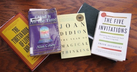 Four helpful books in understanding death and living life