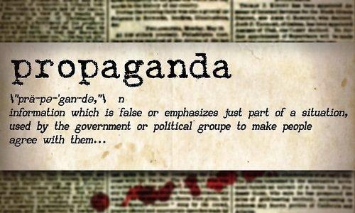Definition of the word propaganda
