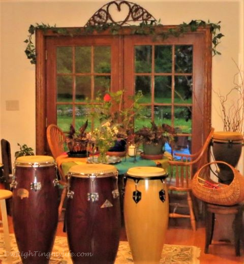 Brown Hand Drums of Various Shades