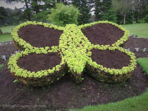 Brown Butterfly Floral Sculpture