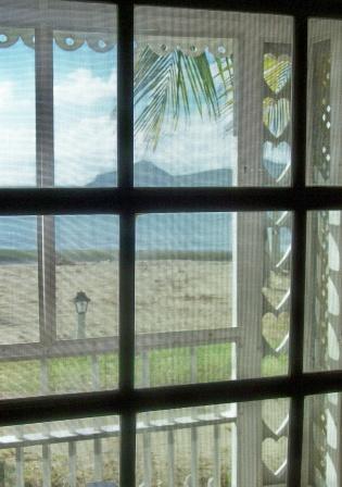 Heart Window to Sea