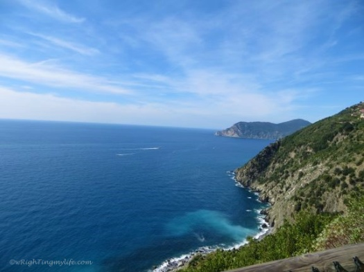 Hiking through Cinque Terre offered breathtaking views