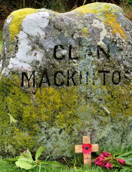 Clan Mackinton's gravesite at Culloden Battlefield Scotland