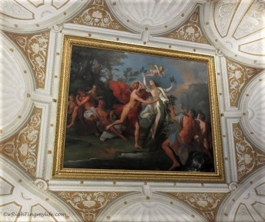 Colorful painting from Borghese Gallery in Italty