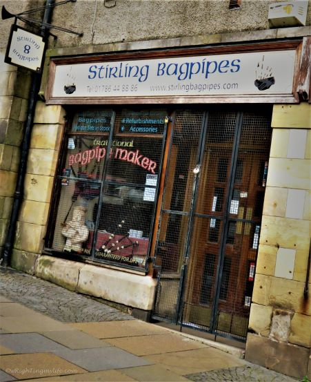 Stirling Bagpipes shop