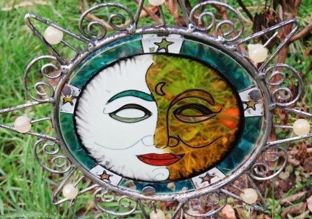 Garden face ornament